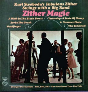 KARL SWOBODA - Zither Magic - (Phillips) - 1960s