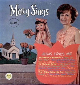 MARCY TIGNER & LITTLE MARCY - Sings Jesus Loves Me - (Word) - 1973
