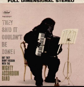MIGHTY ACCORDION BAND - They Said It Couldn't Be Done - (Capitol) - 1950s
