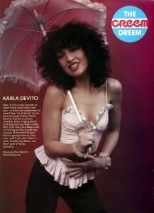 Karla DeVito - creem