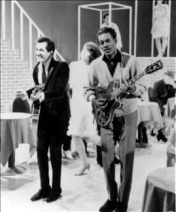 Trini Lopez and Chuck Berry 1965