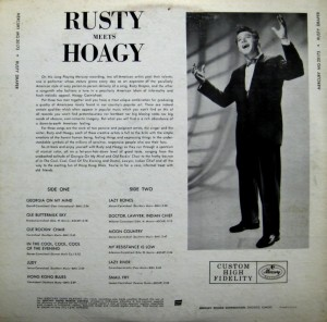 Rusty Draper - Rusty Meets Hoagy - back