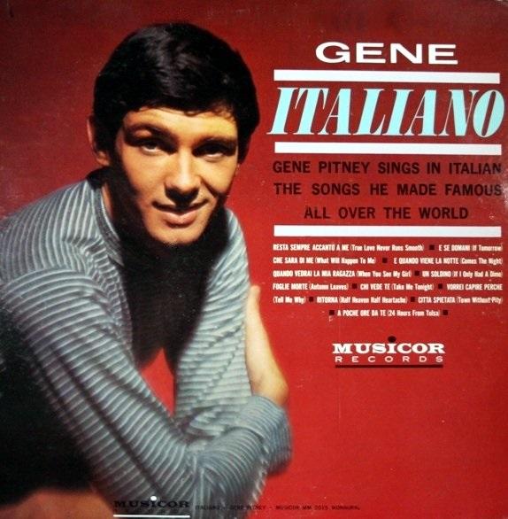 Gene Pitney Sings World Wide Winners