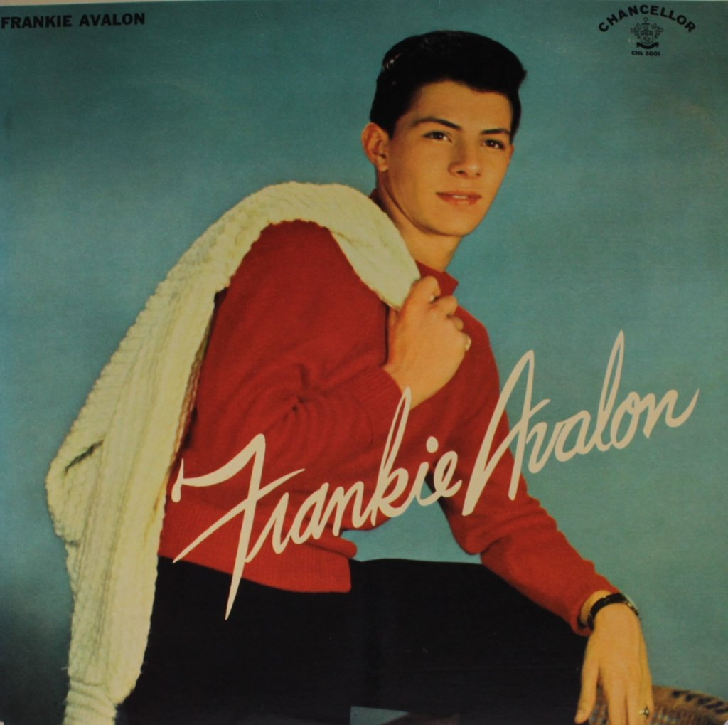 Frankie Avalon Pics with regard to frankie avalon – 1958 | what frank is listening to