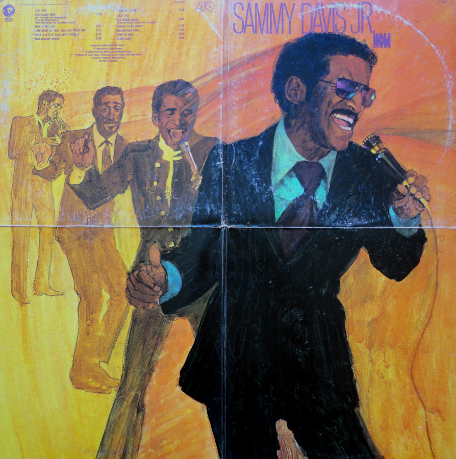 Sammy Davis Jr - Now - Open sleeve